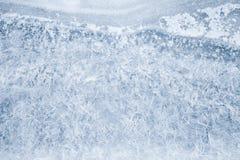 Teste padrão fino fresco do gelo, textura da foto fotografia de stock royalty free