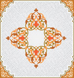 Teste padrão floral árabe Imagem de Stock Royalty Free