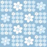 Teste padrão floral Fotos de Stock