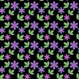 Teste padrão floral Fotografia de Stock Royalty Free