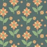 Teste padrão floral Imagens de Stock