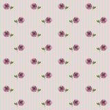 Teste padrão floral 1 Imagens de Stock Royalty Free