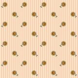 Teste padrão floral 3 Foto de Stock