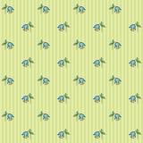 Teste padrão floral 2 Imagens de Stock
