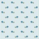 Teste padrão floral 7 Foto de Stock