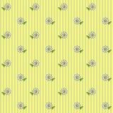 Teste padrão floral 6 Fotos de Stock
