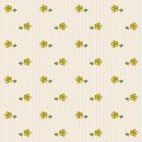 Teste padrão floral 4 Imagem de Stock