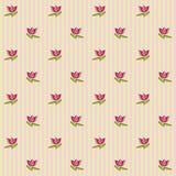 Teste padrão floral 5 Fotografia de Stock Royalty Free
