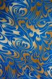 Teste padrão floral abstrato Fotografia de Stock Royalty Free