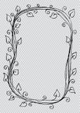 Teste padrão floral abstrato Imagens de Stock Royalty Free