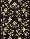 Teste padrão floral abstrato ilustração royalty free