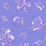 Teste padrão floral abstrato backgroun do vetor Fotos de Stock Royalty Free