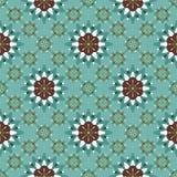 Teste padrão floral abstrato SEM EMENDA ilustração royalty free