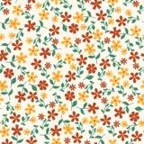 Teste padrão floral abstrato sem emenda Imagem de Stock