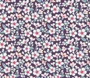 Teste padrão floral bonito Fotos de Stock Royalty Free
