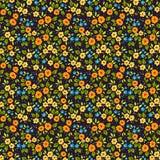 Teste padrão floral bonito Fotografia de Stock Royalty Free