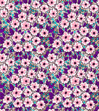 Teste padrão floral bonito ilustração do vetor
