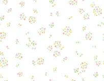 Teste padrão floral bonito sem emenda do vetor Imagem de Stock