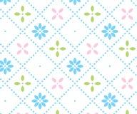 Teste padrão floral claro imagem de stock royalty free