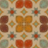 Teste padrão floral colorido Imagem de Stock