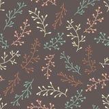Teste padrão floral colorido do vintage sem emenda bonito surpreendente Imagem de Stock Royalty Free