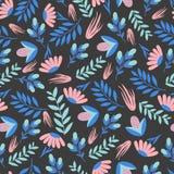Teste padrão floral colorido sem emenda Papel de envolvimento