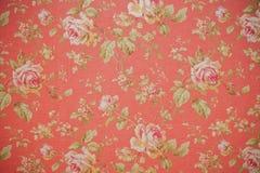Teste padrão floral com rosas Fotografia de Stock
