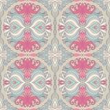 Teste padrão floral cor-de-rosa Fotos de Stock Royalty Free