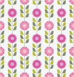 Teste padrão floral cor-de-rosa sem emenda Imagens de Stock