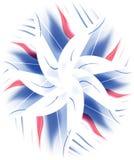 Teste padrão floral da flor abstrata ilustração royalty free