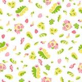 Teste padrão floral da mola ilustração royalty free