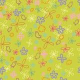 Teste padrão floral da mola agradável Fotografia de Stock Royalty Free