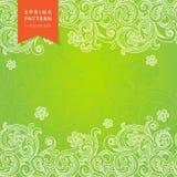 Teste padrão floral da mola do vetor no estilo vitoriano. Fotos de Stock