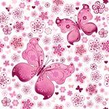 Teste padrão floral da mola sem emenda Foto de Stock