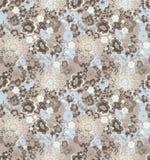 Teste padrão floral da repetição Foto de Stock