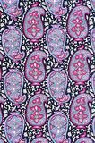 Teste padrão floral da tela da textura do fundo Foto de Stock Royalty Free