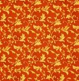 Teste padrão floral da tela do Victorian (sem emenda) Fotografia de Stock