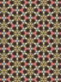 Teste padrão floral dado forma hexágono Fotos de Stock Royalty Free