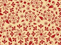 Teste padrão floral de Seemless ilustração stock