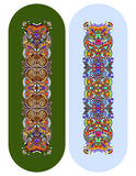 Teste padrão floral decorativo étnico de paisley para o bracelete feito Foto de Stock
