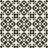 Teste padrão floral decorativo Fotos de Stock Royalty Free