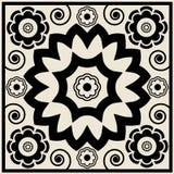 Teste padrão floral decorativo Fotos de Stock
