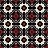 Teste padrão floral decorativo Foto de Stock Royalty Free