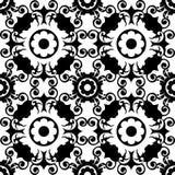 Teste padrão floral decorativo Imagens de Stock