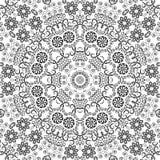 Teste padrão floral do esboço sem emenda Imagens de Stock