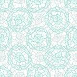 Teste padrão floral do laço Amostra de folha de matéria têxtil da tela da forma do vetor Ilustração para o papel de envolvimento, Imagens de Stock Royalty Free