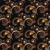Teste padrão floral do laço do vintage Foto de Stock