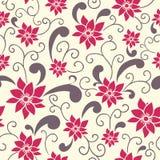 Teste padrão floral do verão Imagens de Stock Royalty Free