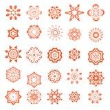Teste padrão floral do vetor Fotografia de Stock Royalty Free