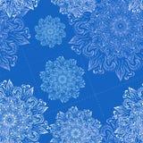 Teste padrão floral do vetor Fotos de Stock Royalty Free